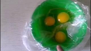 ЛАЙФХАК. #Как сварить яйца без скорлупы  Быстро и просто