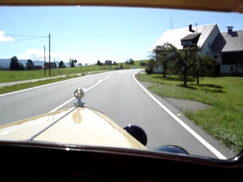 Fahrt mit  1929 CITROEN AC4