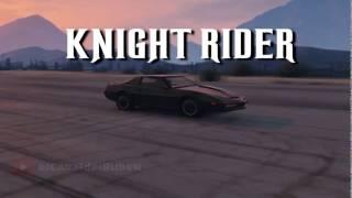 Knight Rider GTA 5 Intro   Knight Rider Grand Theft Auto V