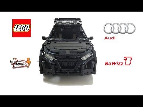 Lego Technic Moc Rc Audi Rally Car Buwizz 20 With