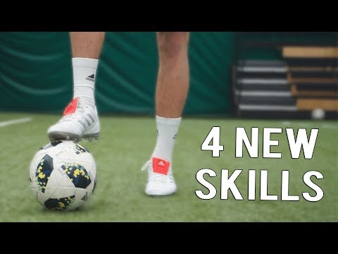 4 NEW COMBO SKILLS TO USE IN FOOTBALL!