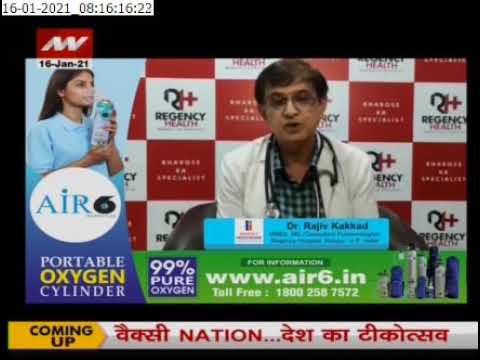 Dr Rajeev Kakkar | Air6 Portable Oxygen Cylinders | India's Leading Brands in Oxygen Cylinders
