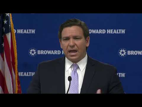 FL-Gov-Ron-DeSantis-Gives-a-COVID-19-Update-at-Broward-Health