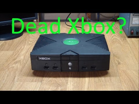 AE#30 Repairing An Original Microsoft Xbox Video Game Console