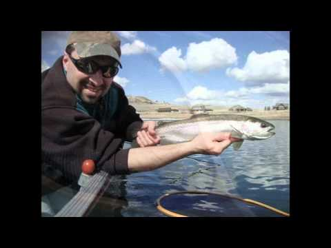 stump lake 2012 ice off fly fishing youtube