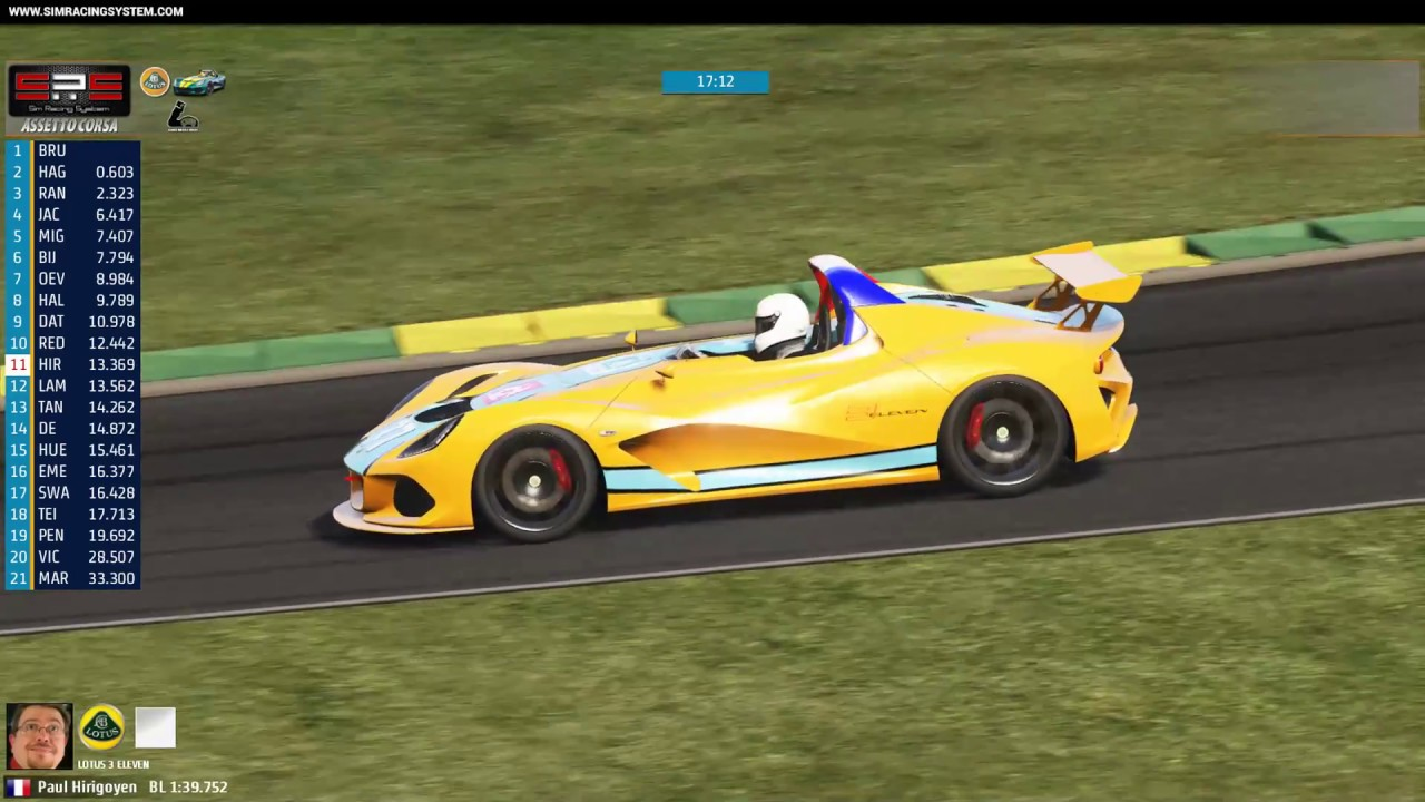 sim racing system live broadcast gamer muscle lotus. Black Bedroom Furniture Sets. Home Design Ideas
