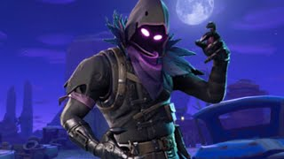I buy the new raven skin on fortnite