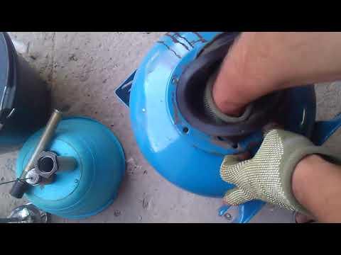 Гидроаккумулятор Замена и продления срока службы  груши. мембраны