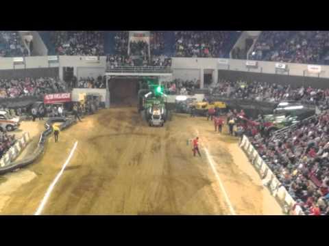 Silver Bullet at 2012 Louisville Tractor Pulls. Freedom Hall, Jordan Lustik