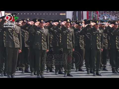 11a5a6646  أداء القسم القانوني ولحظة ختام حفل تخريج ضباط كلية علي الصباح العسكرية  7-3-2018 - YouTube