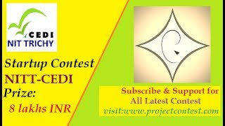 NIT Trichy I CEDI I Startup Support Contest I Project Contest