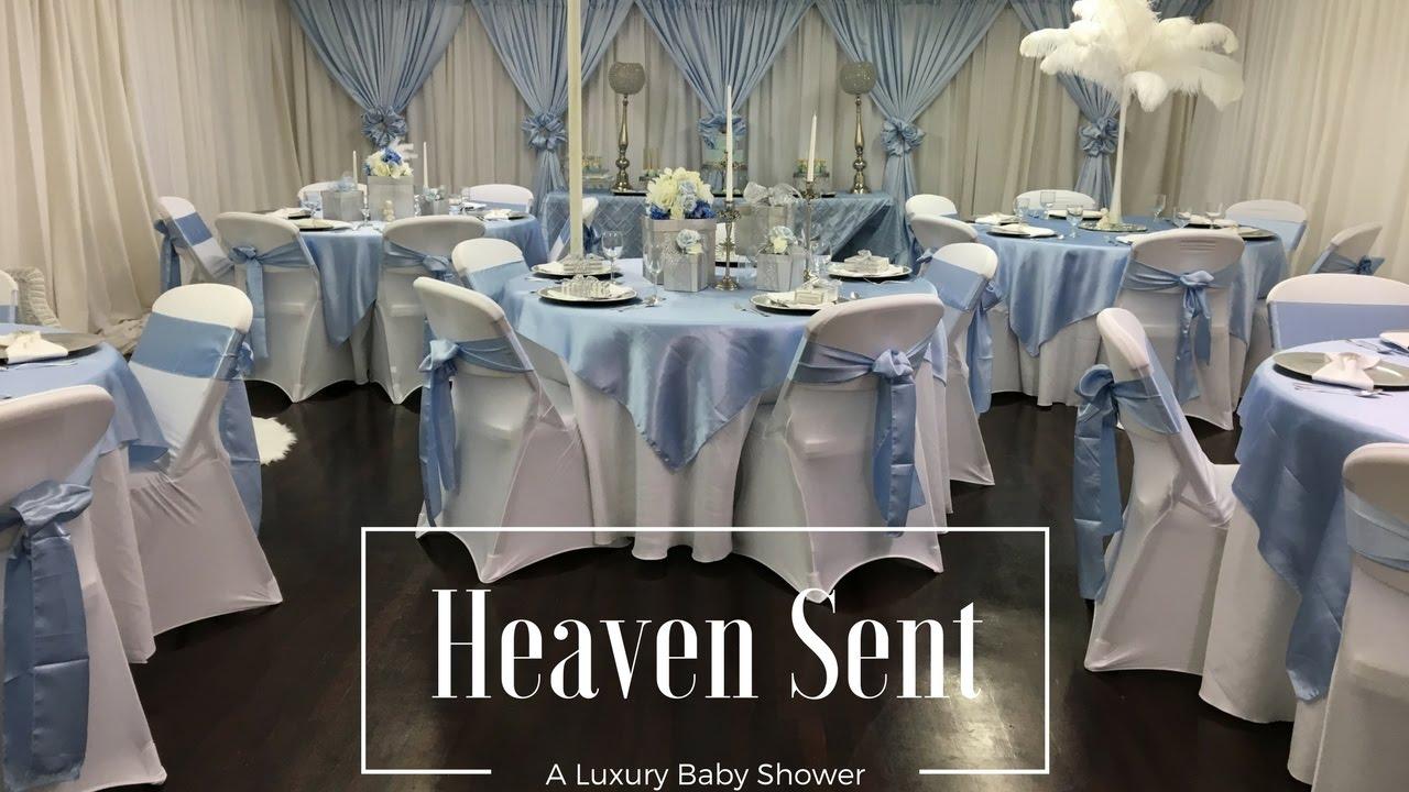 Heaven Sent Baby Shower  Tips U0026 Ideas Luxury Events