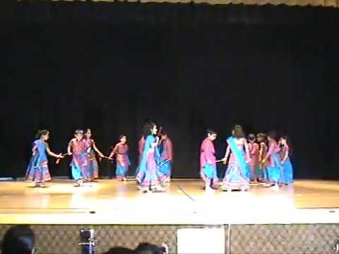 Soham Garba Dance at HSNC Holi Festival Cary NC USA 2012
