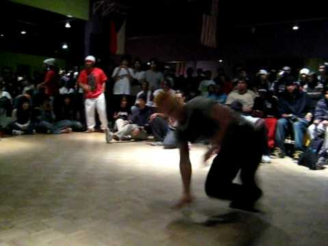 Bboy JayKidd (J-Ville FL) vs Karate Kid (Houston TX)