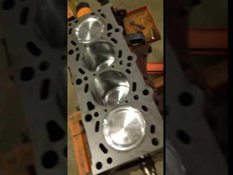 1975 BMW 2002 Turbo M42 Engine Rotation