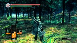 Dark Souls Montage - Comparison of the broken PC stereo sound to the intended mix