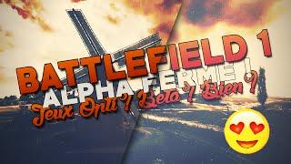 BATTLEFIELD 1 ALPHA ! OPTIMISE ?  PETITE CONFIG ? BETA ? BON JEUX ? YESS :D