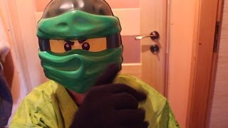 LLOYD FROM LEGO NINJAGO IN REAL LIFE OPENING Green NRG Dragon fUNNY MOVIE FOR KIDS
