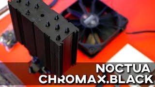 Noctua NH-U12S & NH-D15 chromax.Black | Les meilleurs ventirads passent enfin au noir !