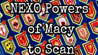 NEXO POWERS OF MACY TO SCAN (2017)