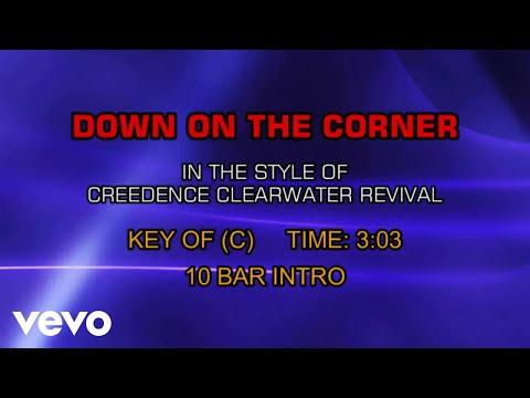 Creedence Clearwater Revival - Down On The Corner (Karaoke)