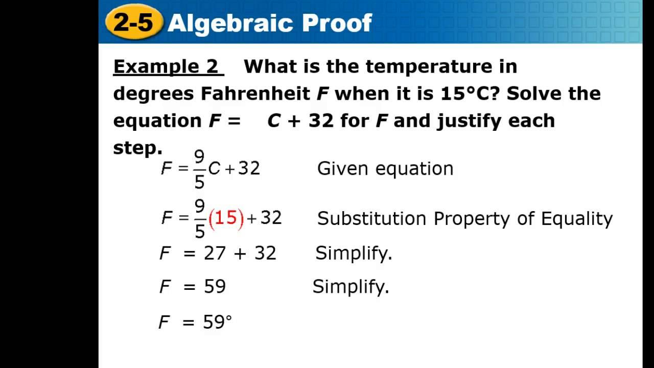 Algebraic Proofs Geometry – Algebraic Proofs Worksheet