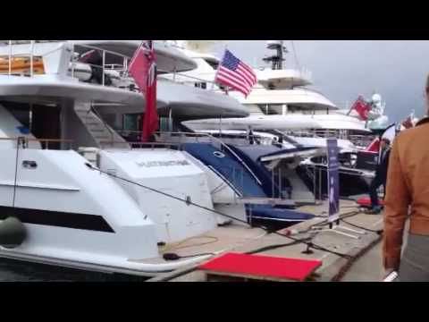 Antibes Yacht Show 2013 with the 151' Vicem Tri-Deck - SYS Yacht Sales