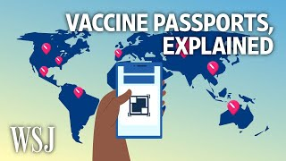 What Would a Vaccine Passport Look Like? | WSJ