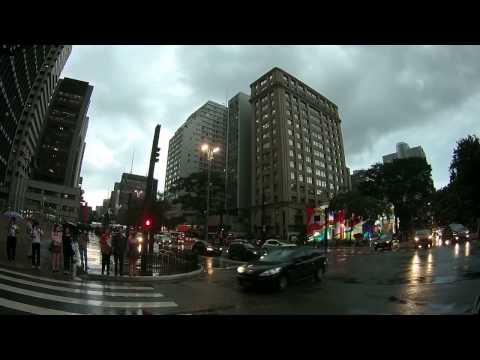 Brazil | São Paulo | Paulista Avenue After The Rain
