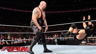 Big Show vs. Heath Slater: Raw, January 18, 2016