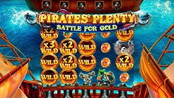 SUPER MEGA WIN ON PIRATES' PLENTY 2: BATTLE FOR GOLD (Red Tiger)