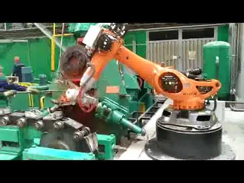 J58K-1600ton CNC Electric Screw Press Automatic Forging Production Line In Russia
