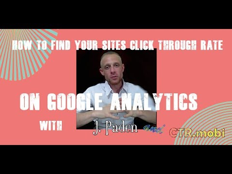 Click Through Rate Google Analytics Finding the Formula