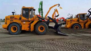 4K | Ljungby Maskin L15 loader | Demonstration | TKD 2016 Almere