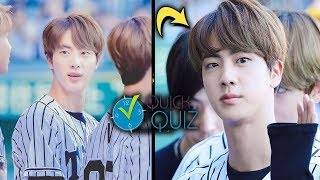 How well do you know BTS Jin ? (JIN QUIZ)