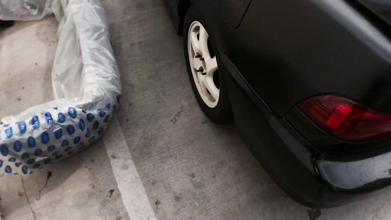 Acura Integra Bumper Replacement YouTube - Acura integra rear bumper