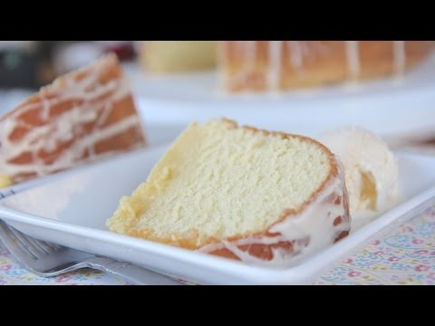 Southern Five Flavor Pound Cake Recipe