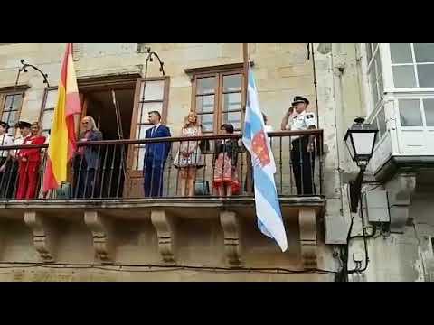 Inauguradas las Fiestas de San Roque de Viveiro