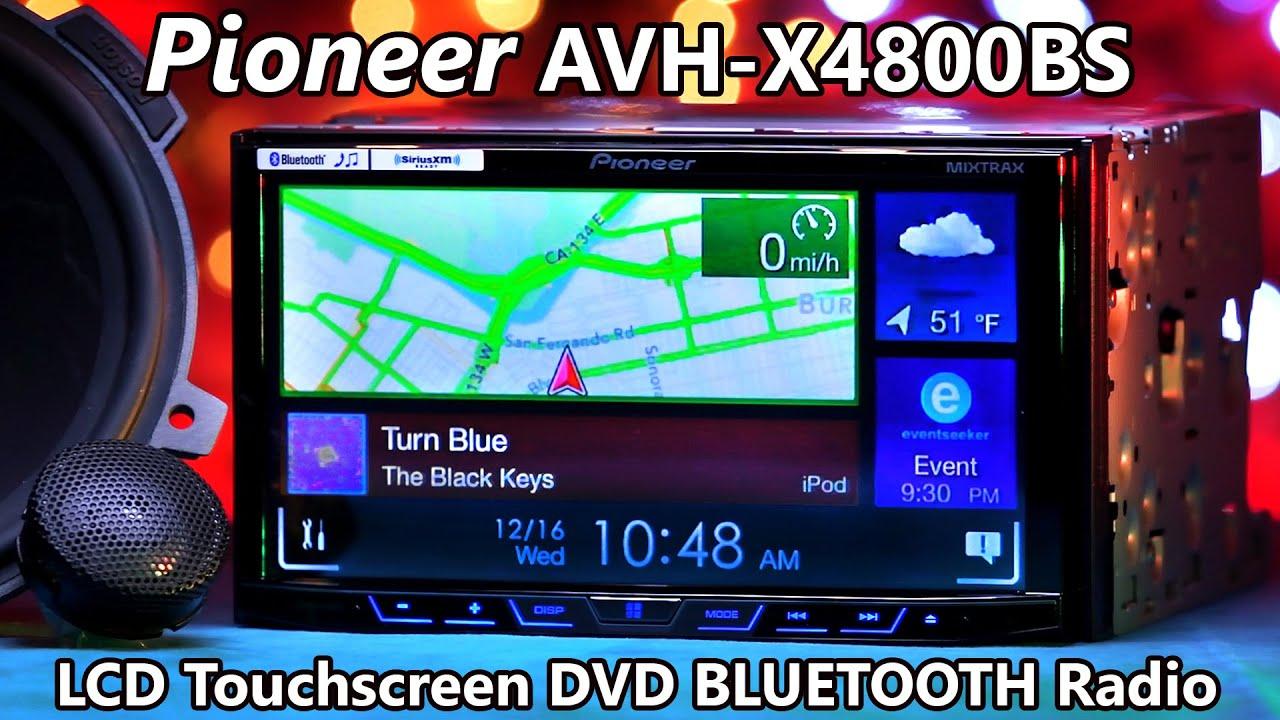 Pioneer Avh-x4800bs - Demo  U0026 Review 2016
