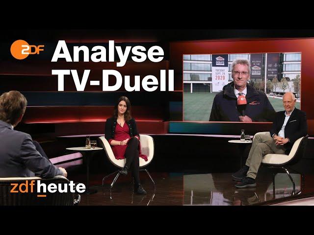Trump vs. Biden: ZDF-Korrespondent analysiert erstes TV Duell   Markus Lanz am 30.09.2020