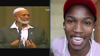 REACTION TO Ahmed Deedat - Pastor caught unaware of 'word for word' copying in the bible!