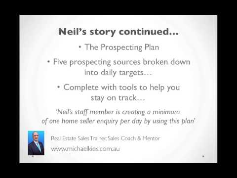 Three quick hits & your real estate prospecting plan...