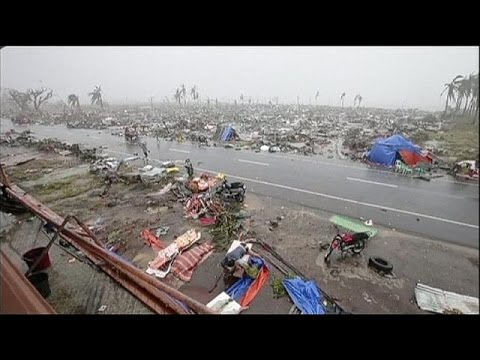 Video: Typhoon-devasted Philippines faces aftermath