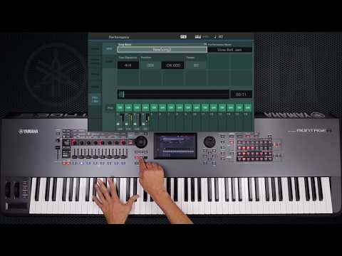 MONTAGE minute • Performance Recording Part 1 | Synths | Yamaha Music