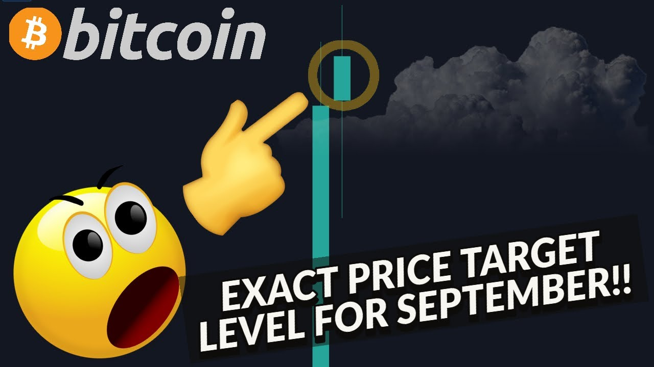 MUST SEE!!!! BITCOIN PRICE FORECAST FOR SEPTEMBER!!!  [my exact target level...!!!!]