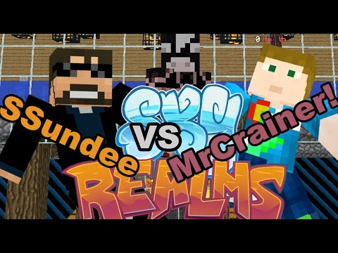 SSundee VS. MrCrainer With Thunberg!! The Farming Challenge!!!