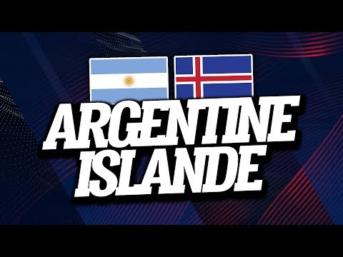 ARGENTINE - ISLANDE (1-1) // Live Reaction & Commentaire - ClubHouse