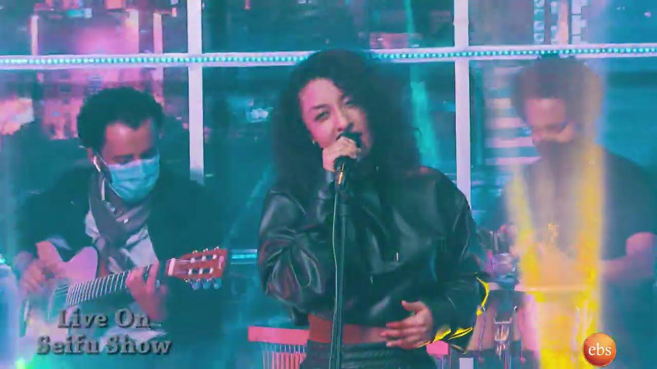"Seifu on EBS: ሃሌሉያ ተክለጻዲቅ - ""ካንተ ጋር   Kantegar""- Live Performance   Haleluya Tekletsadik   New Music"