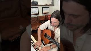 The Relationship / weezer's Brian Bell practicing Dead Roses from OK Human 2-27-21