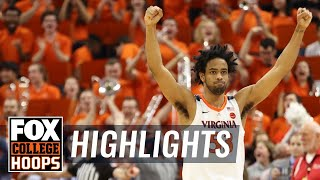 Duke misses potential game-winner at the buzzer, falls to Virginia | FOX COLLEGE HOOPS HIGHLIGHTS